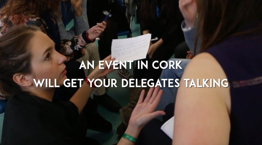 Let Cork, Ireland be the location for your next event or conference – Plan your event with Cork Convention Bureau.