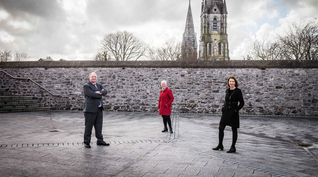 Meet the Cork Convention Bureau team – Seamus Heaney, Anne Cahill, Evelyn O'Sullivan.