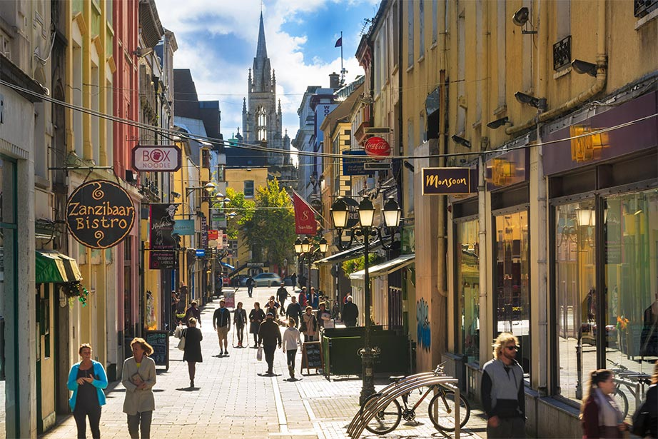 Cook Street in Cork City centre offers everything from fabulous fashion to casual cuisine.